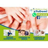 aTuDomi, servicios de canguro a domicilio