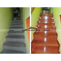 colocacion de pisos de madera y escaleras de madera